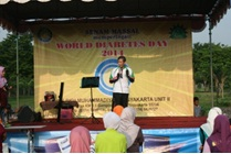 World Diabetes Day 2014 : Senam Sehat Bersama RS PKU Muhammadiyah Yogyakarta